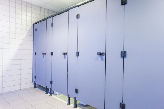 production of trading aluminium materials Outlet WC Doors