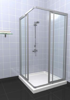 Θεσσαλονίκη εμπορία προϊόντων αλουμινίου Beta Συστήματα καμπίνας μπάνιου